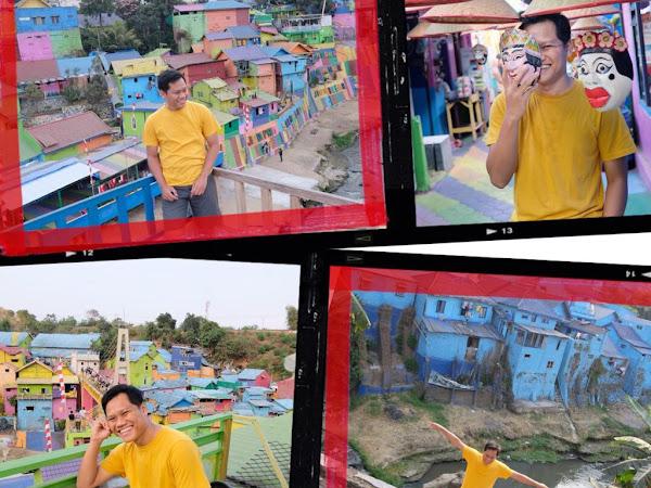 Spot Wajib & Tips Foto Kalau Main Ke Kampung Wisata Jodipan di Malang
