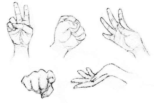 Drawing the Human Figure (Lesson 5/Hands & Feet)
