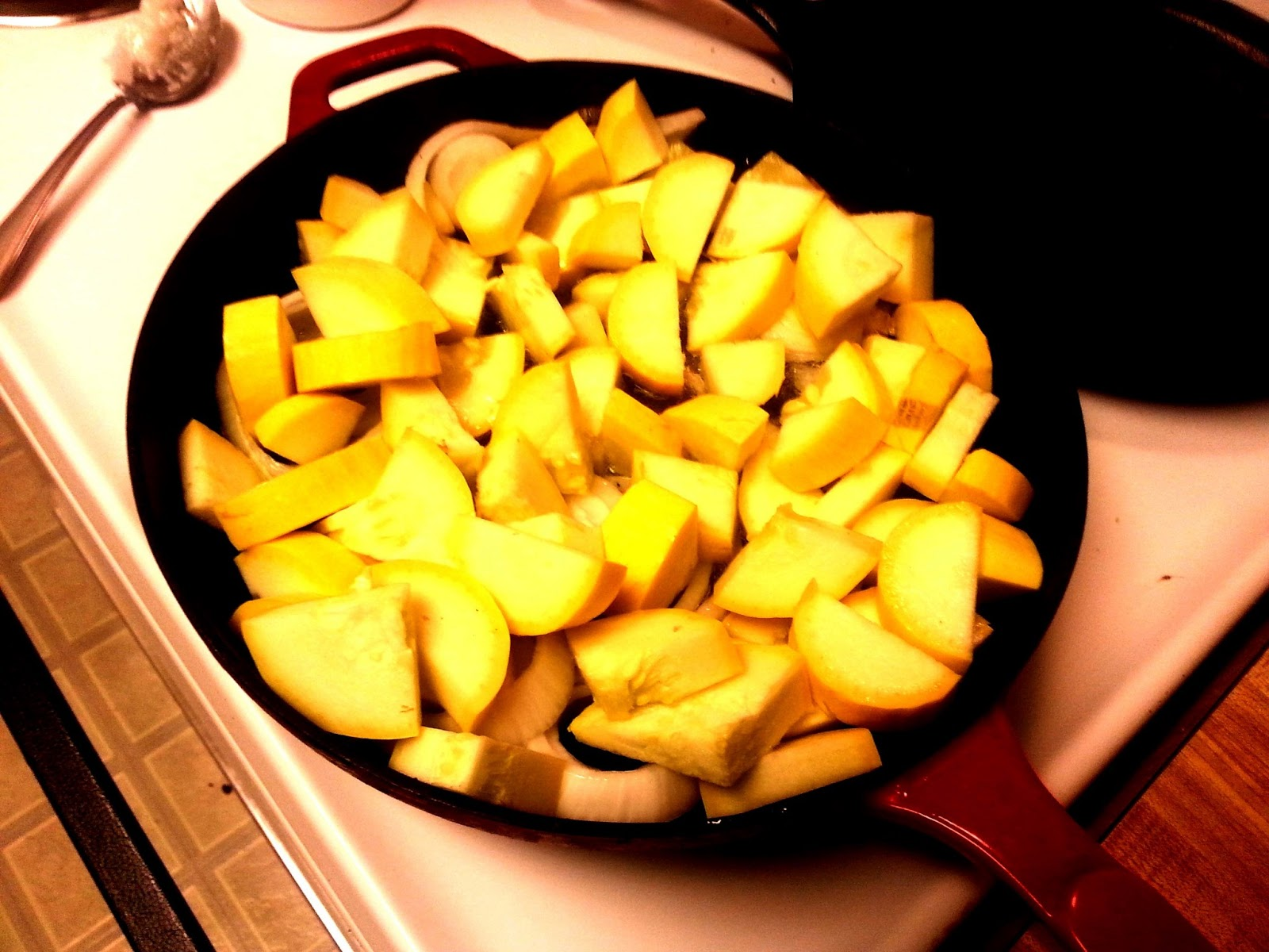 how to cook green squash on the stove