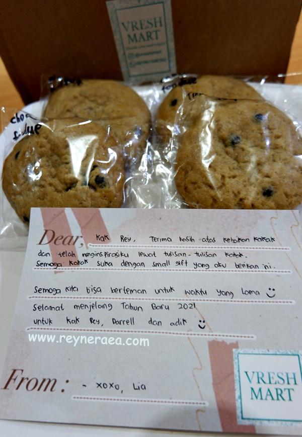 soft cookies enak dari lia @vreshmart