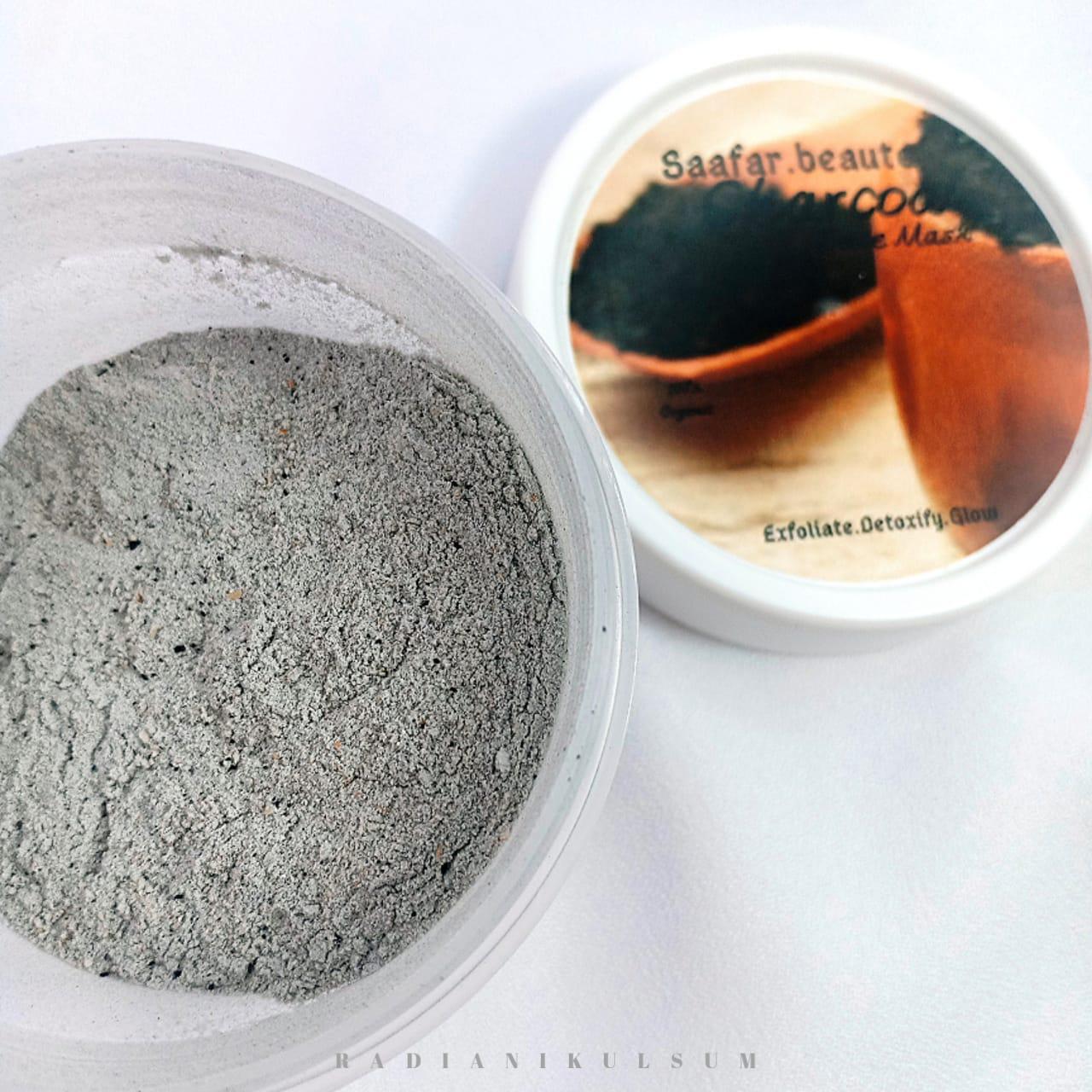 Saafar Beaute Charcoal Face Mask