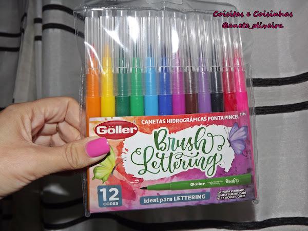 Canetas Brush Pen Göller