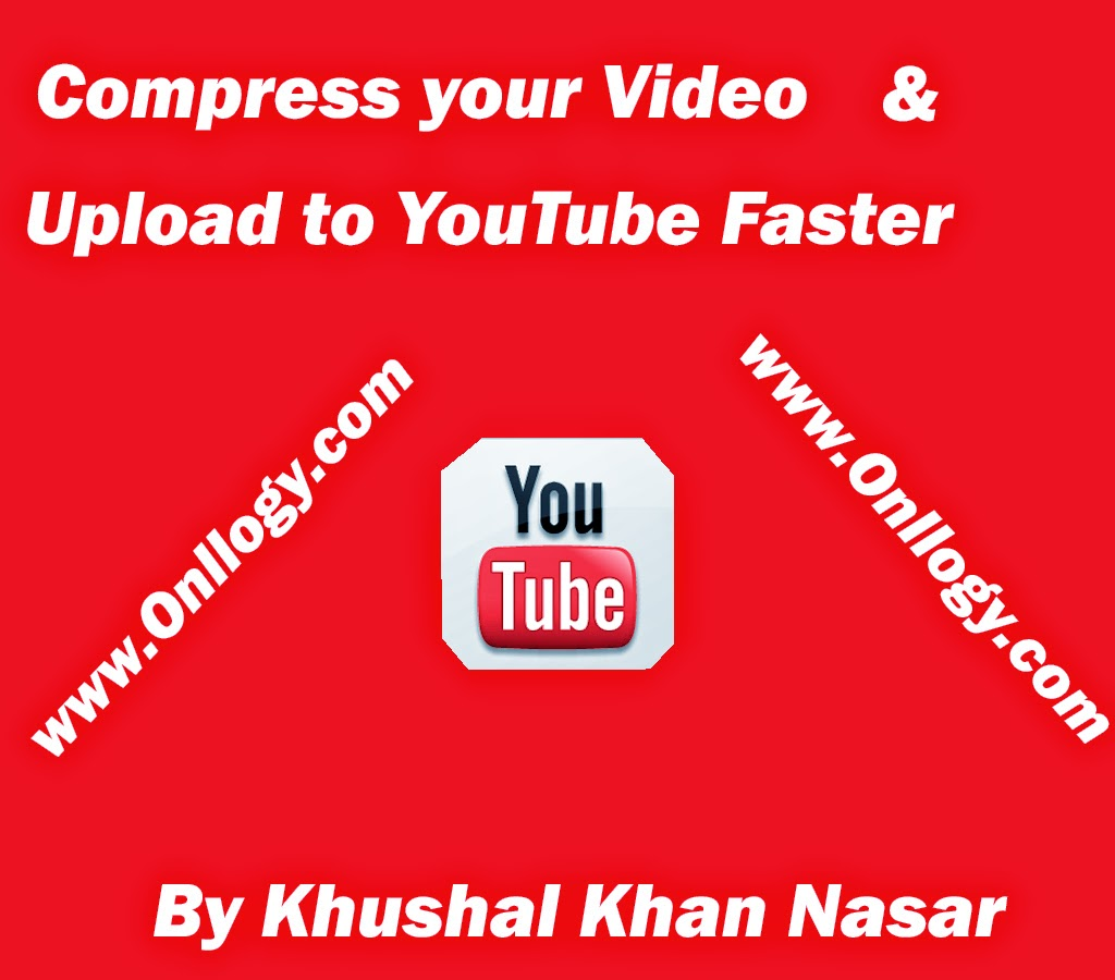 Compress your video without lose of any quality & upload to