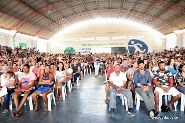 Prefeitura de Santa Cruz realiza sorteio e 500 famílias são contempladas com casas no Residencial Cruzeiro