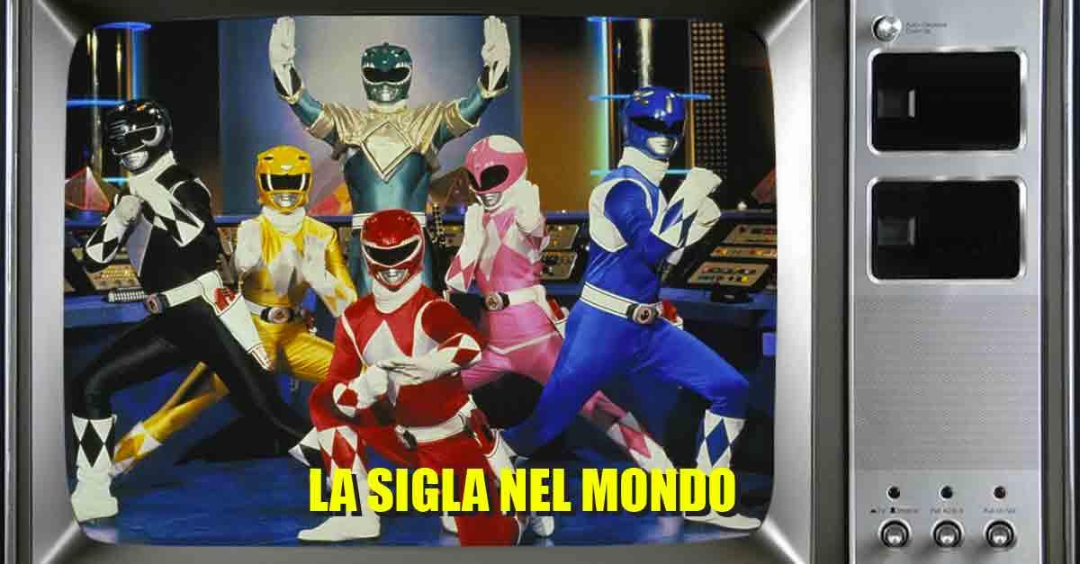 Le origini dei Power Rangers e la sigla che li ha accompagnato nel mondo