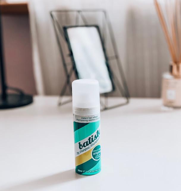 suchý šampón pre všetky typy vlasov Batiste