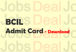 BCIL BET Admit Card 2017