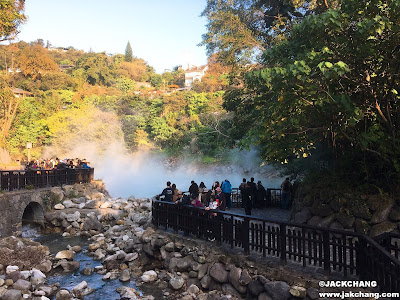 地熱谷小溪
