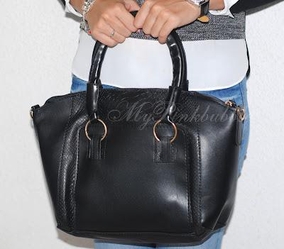 bolso negro minitake