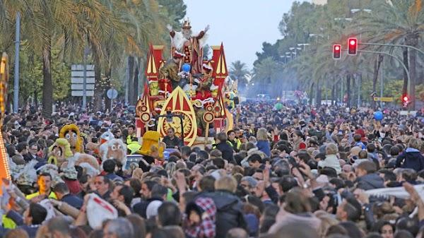 Horario e Itinerario Cabalgata Reyes Magos Jerez de la Frontera 2019