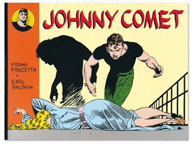 Johnny comet de Frank Frazzeta y Earl Baldwin comic clásico coches