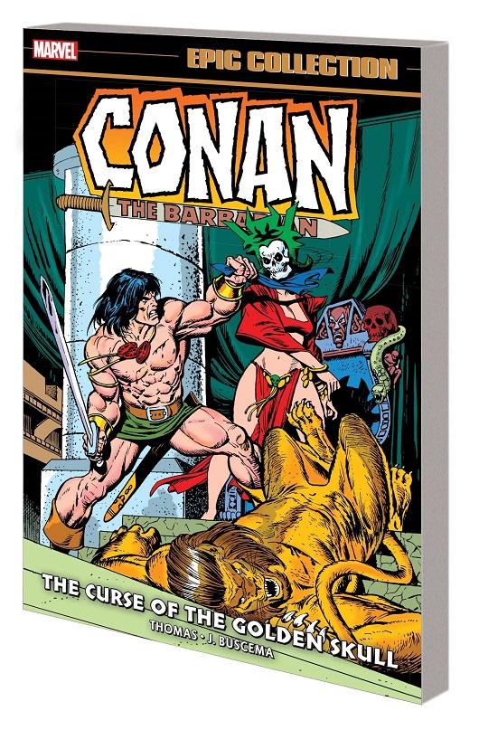 Conan Original Marvel Years Epic Coll - Curse of the Golden Skull Tp