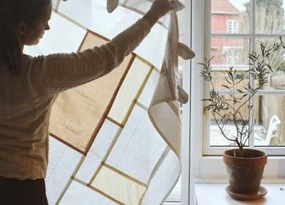 Pojagi mosaico coreano textiles de moda para el hogar