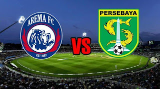 LINK Live Streaming TV Online Indosiar Arema FC vs Persebaya Jam 15.30, Nonton HP via Vidio Premier