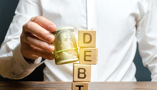 how to get rid of high-interest debt credit card payments owed