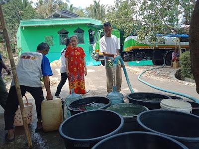 Humanity Water Tank (HWT) Distribusikan Air Bersih di Susunan Baru
