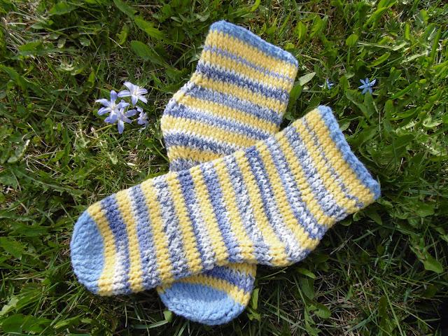 #crochet #socks #eestvõttegapoolsammas #FPhdc #sokid #heegeldatud