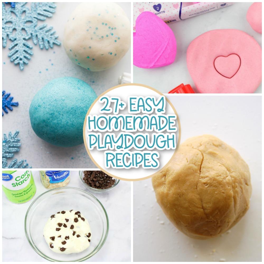 easy playdough recipes