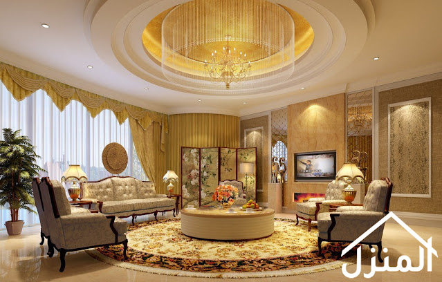 صور ثريا معلقة في البيت