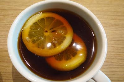 So Good Char Chan Tang, lemon tea