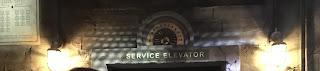 Tower of Terror Service Elevator California Adventure