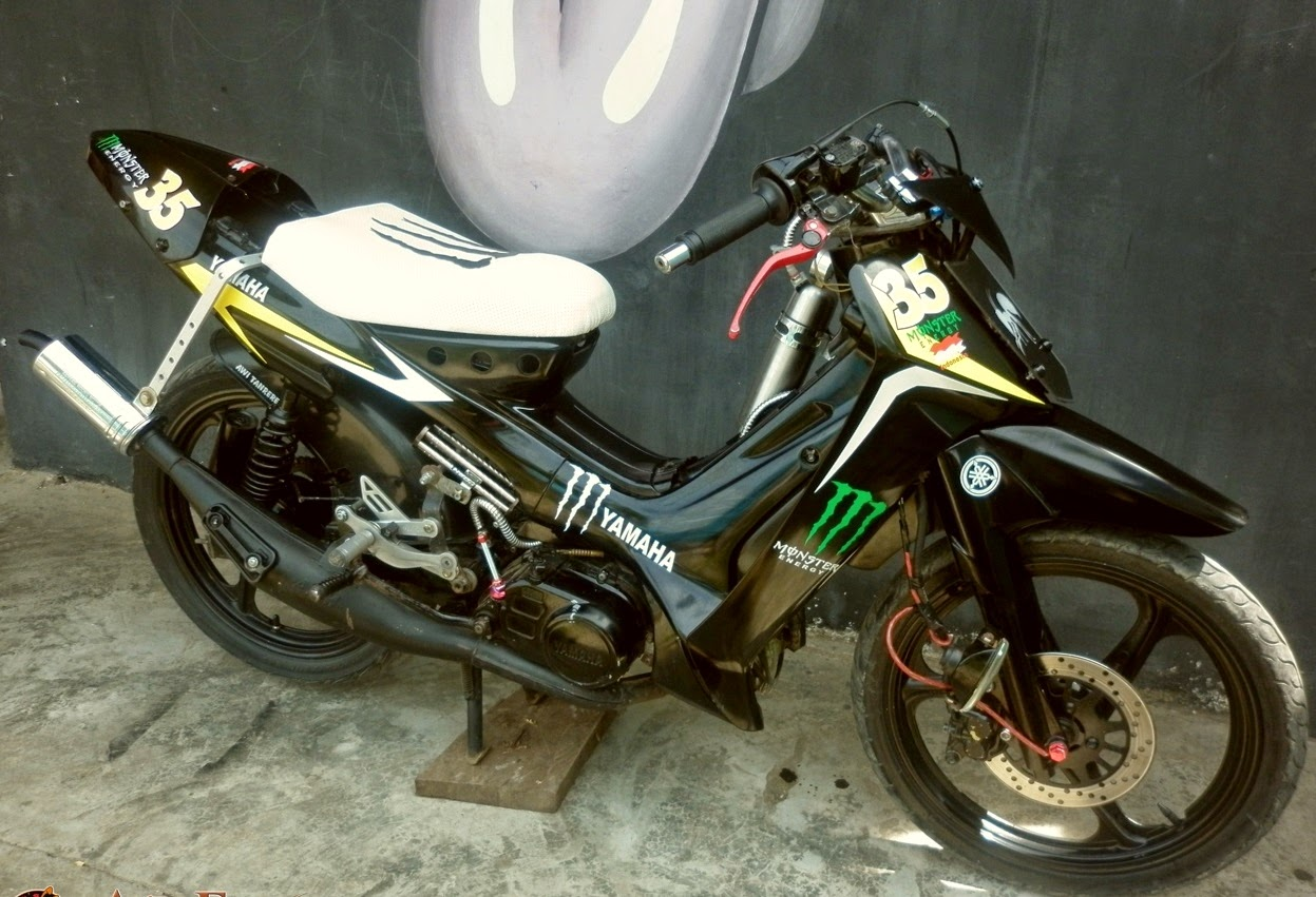 Modifikasi Motor Fiz R Modifikasi Sepeda Motor