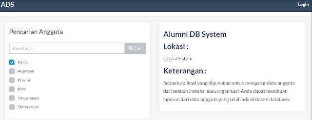 Sistem Informasi Alumni Berbasis Web 2 - lupacode