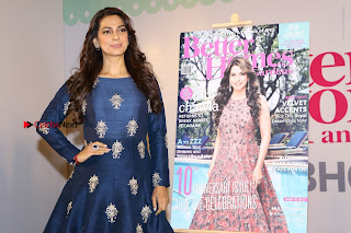Bollywood Actress Juhi Chawla Launchs Better Homes 10th Anniversary Celetion Cover  0040.JPG