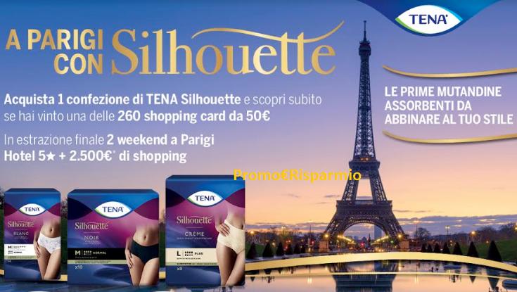 PROMO€RISPARMIO: Tena \'\'A Parigi con Solhouette\'\': vinci soggiorni ...