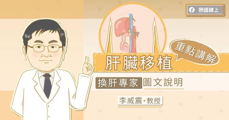 肝臟移植重點講解,換肝專家圖文說明