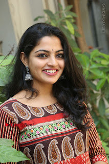 Telugu Actress Nikhila Vimal Latest Stills in Anarkali Dress  0132.JPG