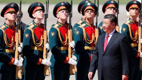 Presidente chino Xi Jinping llega a Rusia en visita de Estado