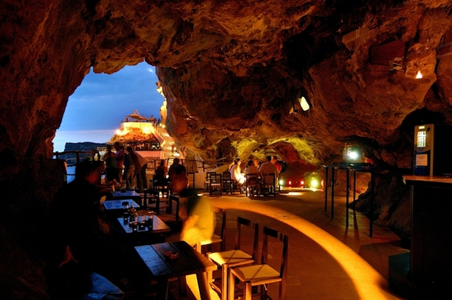 Cova d'en Xoroi em Menorca