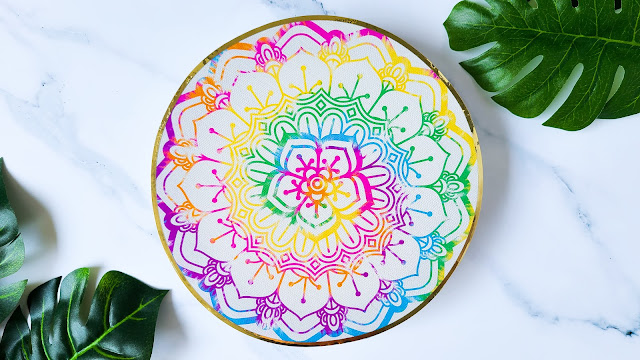 mandalas, CAMEO 4, parchment paper, clear sticker paper, silhouette cameo project