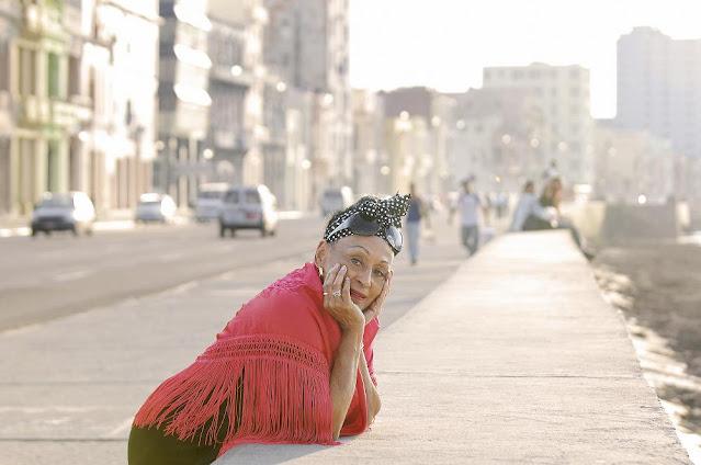 En el malecón de La Habana (Foto Twitter Omara Portuondo)