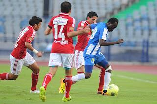 نتيجة مباراة الاهلى والداخلية 2-1 في كأس مصر 2017