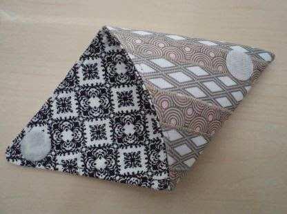 Origami Ribbon Coin Purse crafted by eSheep Designs
