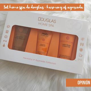 Pruebo y te cuento: Set home spa de Douglas