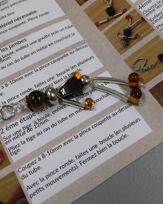 la perle des loisirs, porte clés, tutoriel, DIY, bullelodie