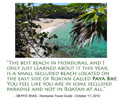 The best beach in Honduras, and I only just learned about it this year, is a small secluded beach located on the east side of Roatan called Paya Bay. You feel like you are some secluded paradise and not in Roatan at all. article, media, most beautiful, #payabay, #payabayresort, good energy, bliss beach, #clothingoptional,