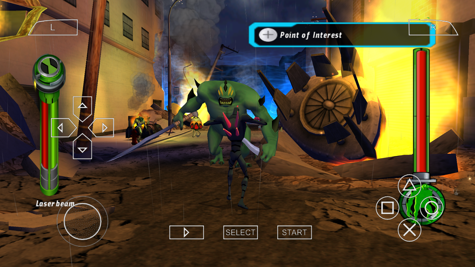 ben 10 alien force vilgax attacks psp cso