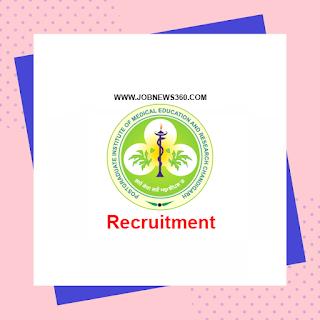PGIMER Recruitment 2020 for Assistant Professor (77 Vacancies)