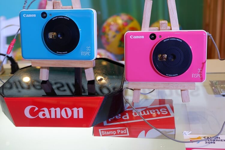 Canon Launches iNSPiC Instant Camera Printers in the Philippines