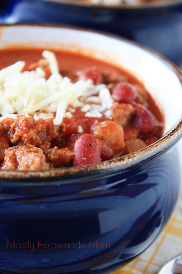 Italian Chili | Mostly Homemade Mom