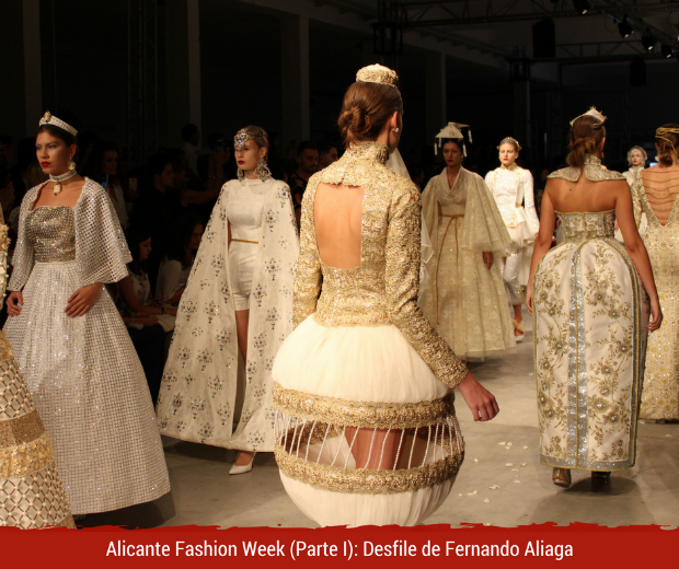 Alicante Fashion Week Desfile de Fernando Aliaga