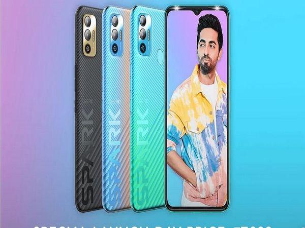 टेक्नो ने भारत में स्पार्क 7T लॉन्च किया; फोन में 6000mAh की दमदार बैटरी मिलती है, कीमत 8,999 रुपए