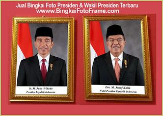 Jual Foto Presedin dan wakil presiden