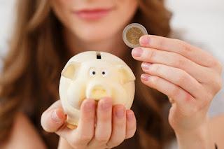 poupando dinheiro