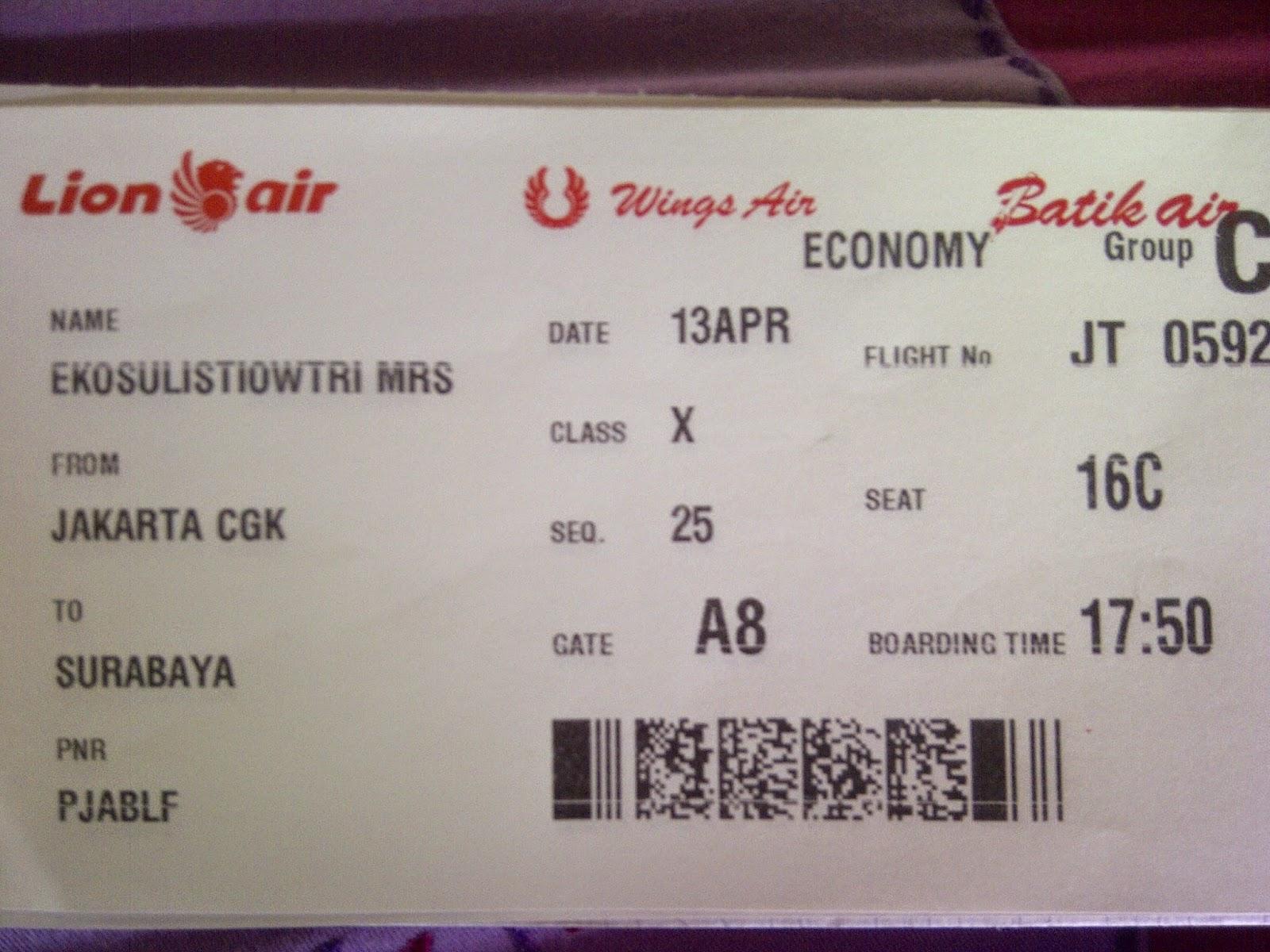 Berburu Tiket Pesawat Di Jakarta Bunda Tri Com