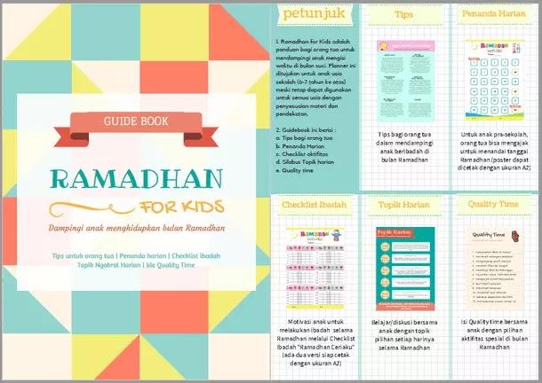 Buku Pedoman Ramadhan Untuk Anak Anak Guide Book Ramadhan For Kids Berkas Edukasi